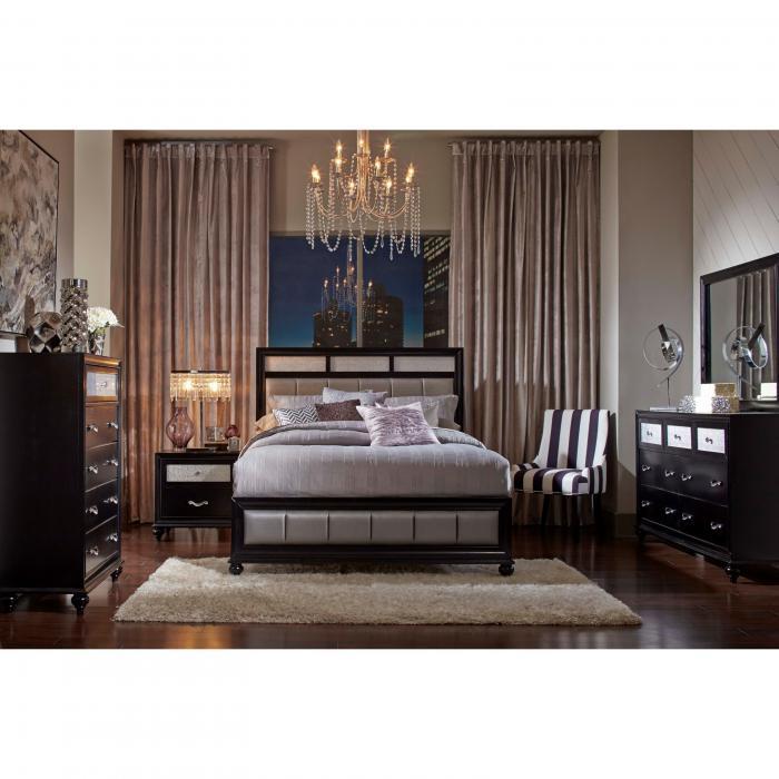 harlem furniture barzini bed dresser mirror and 1